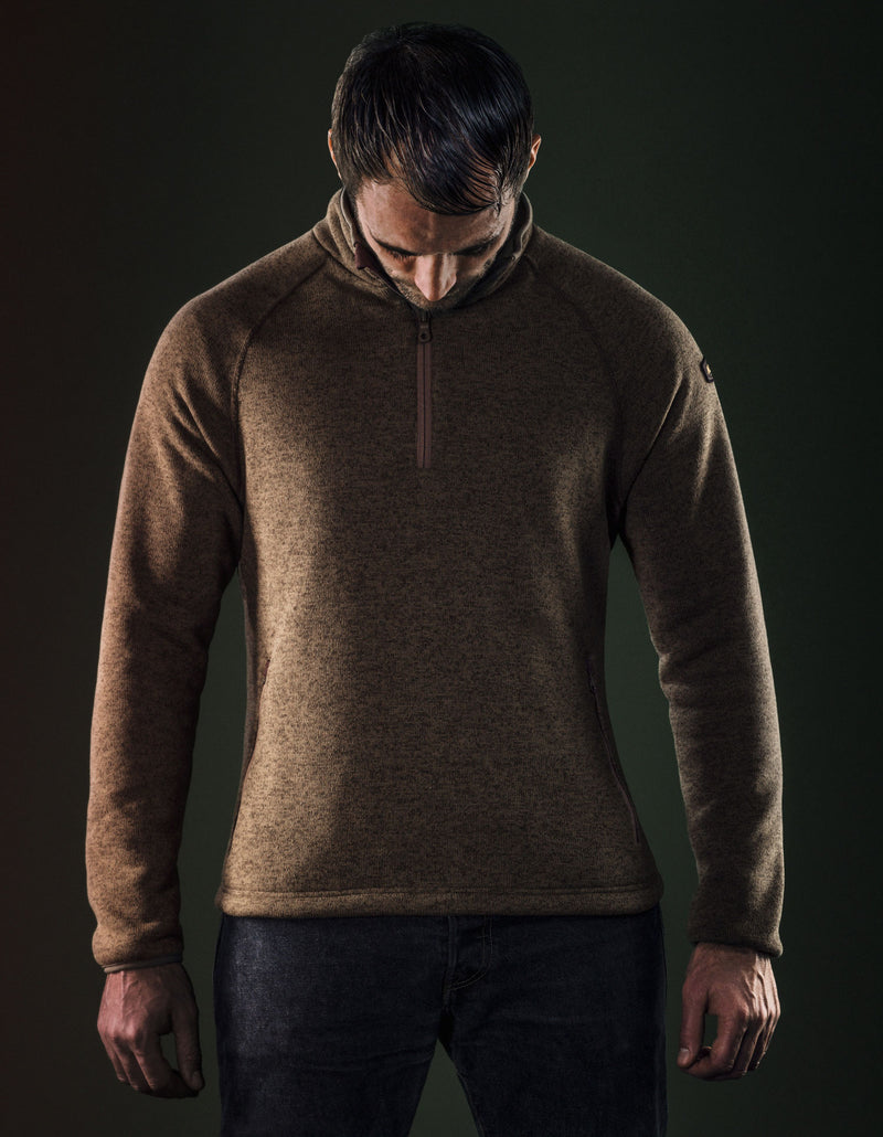 Super Warm Polartec Half Zip Pullover by Musto