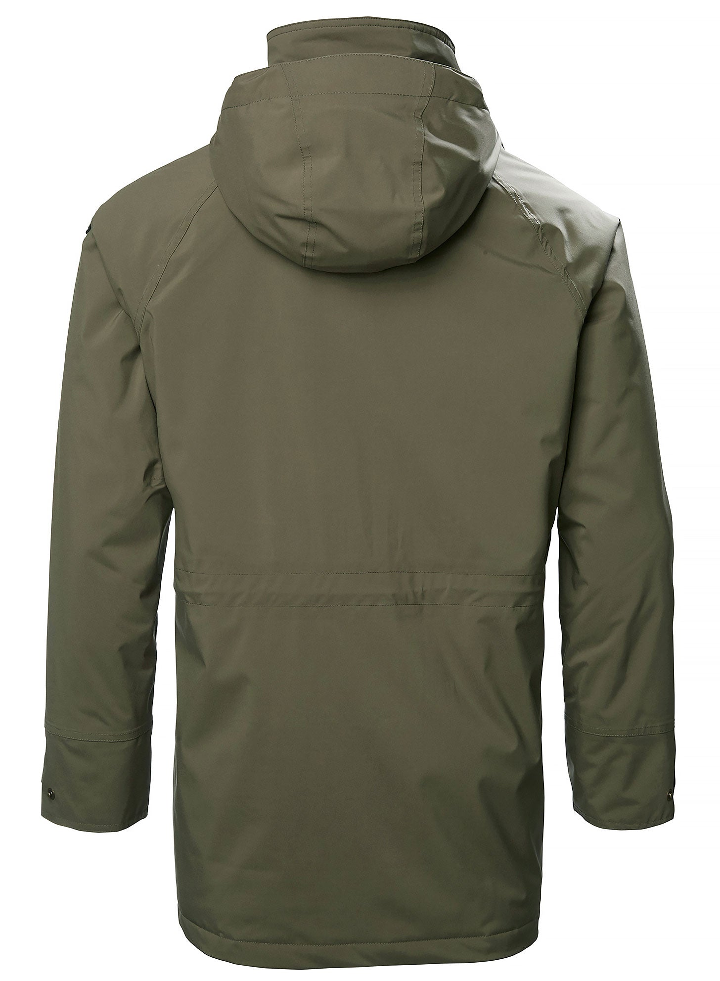 Back view Musto Primaloft waterproof Jacket