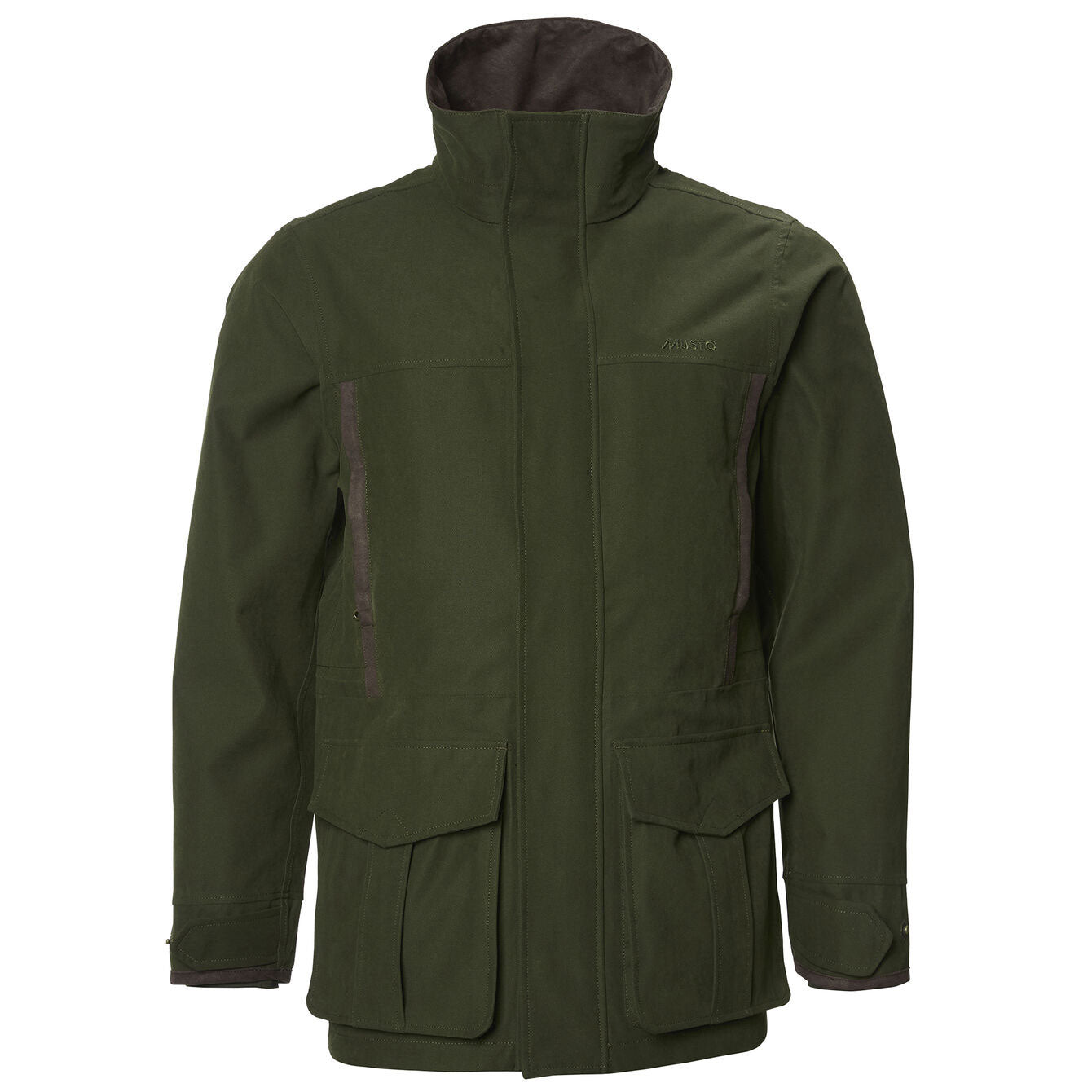 With neck fully closed Musto Keepers Westmoor BR1 Jacket