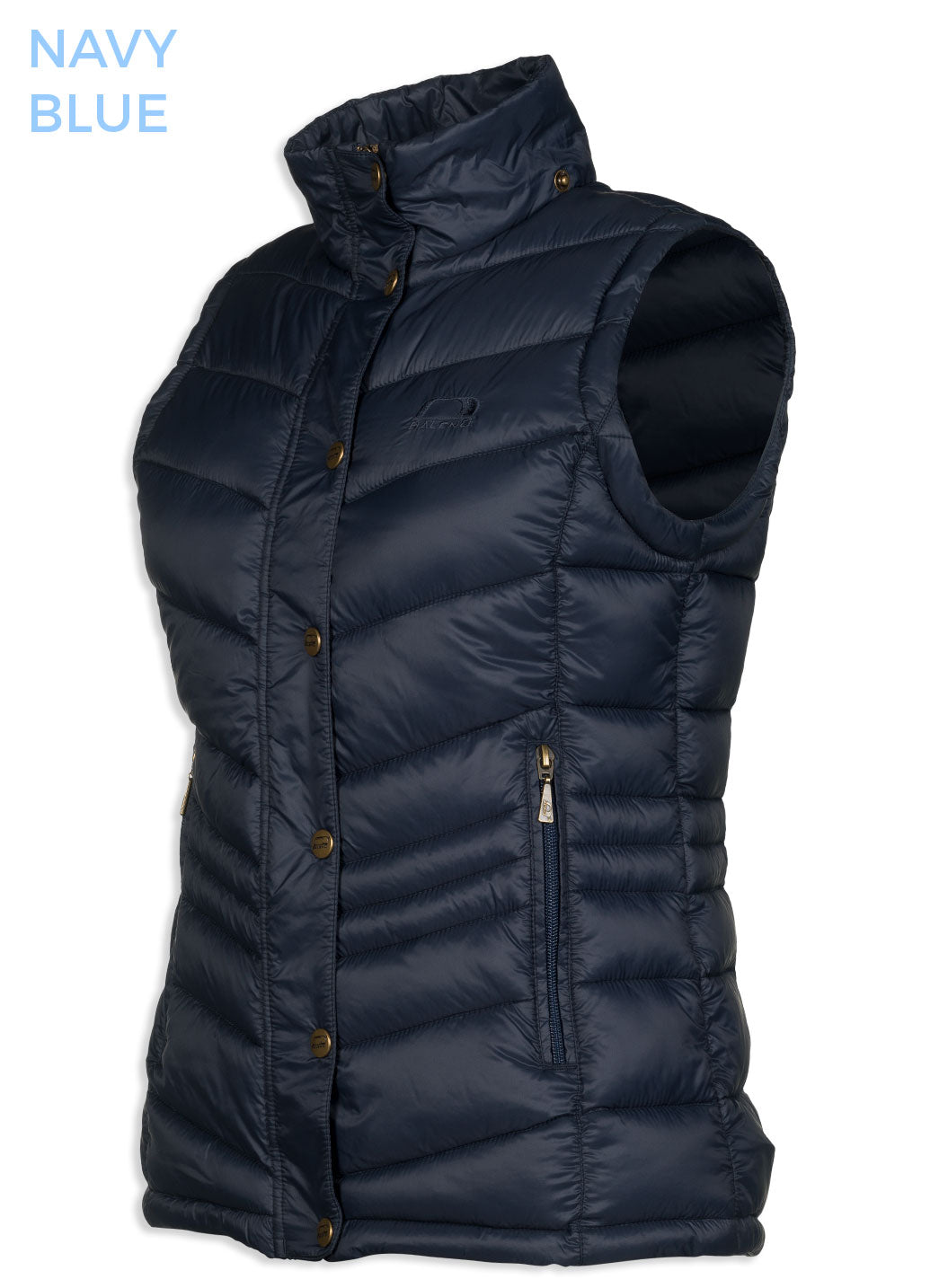 duvet style quilted waistcoat