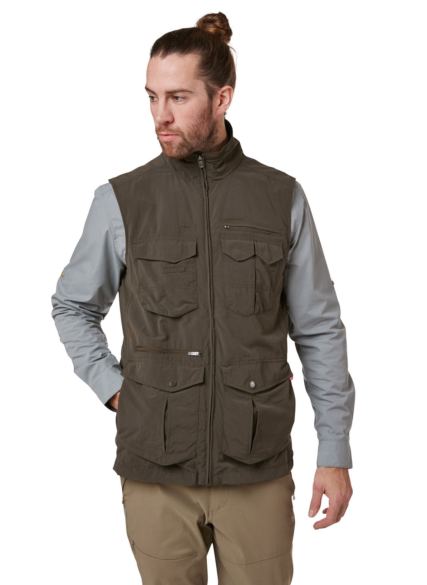 Woodland Green Adventure II Multi-pocket Gilet by Craghoppers