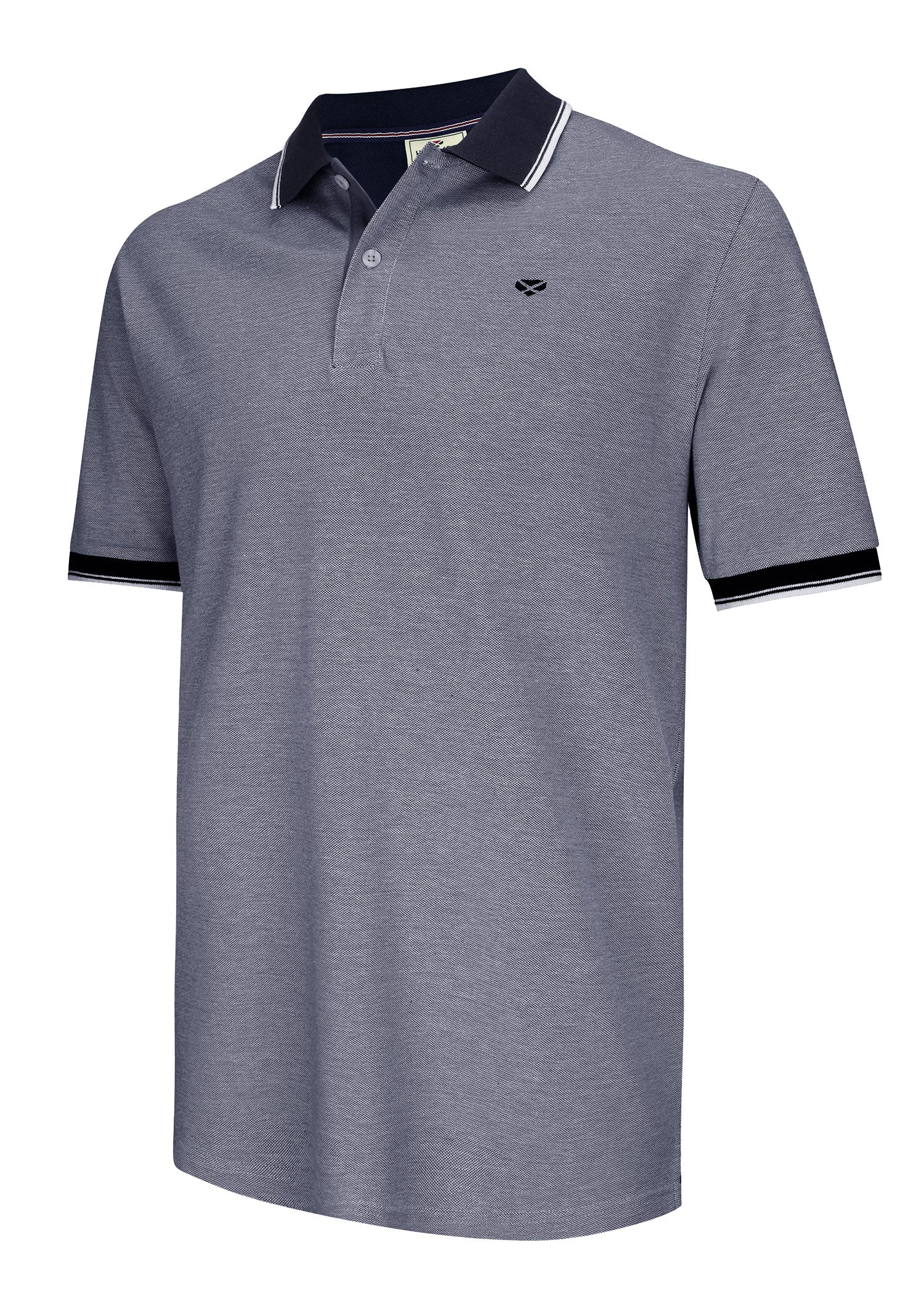Navy Hoggs of Fife Kinghorn Polo Shirt