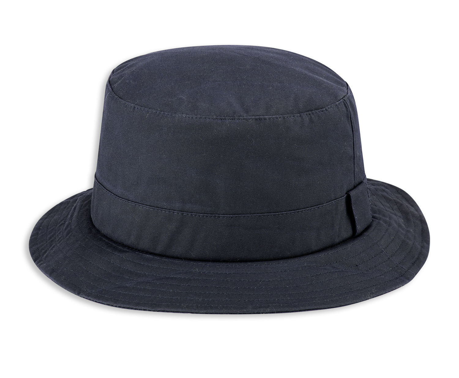 Blue Navy Hoggs of Fife Waxed Bush Hat