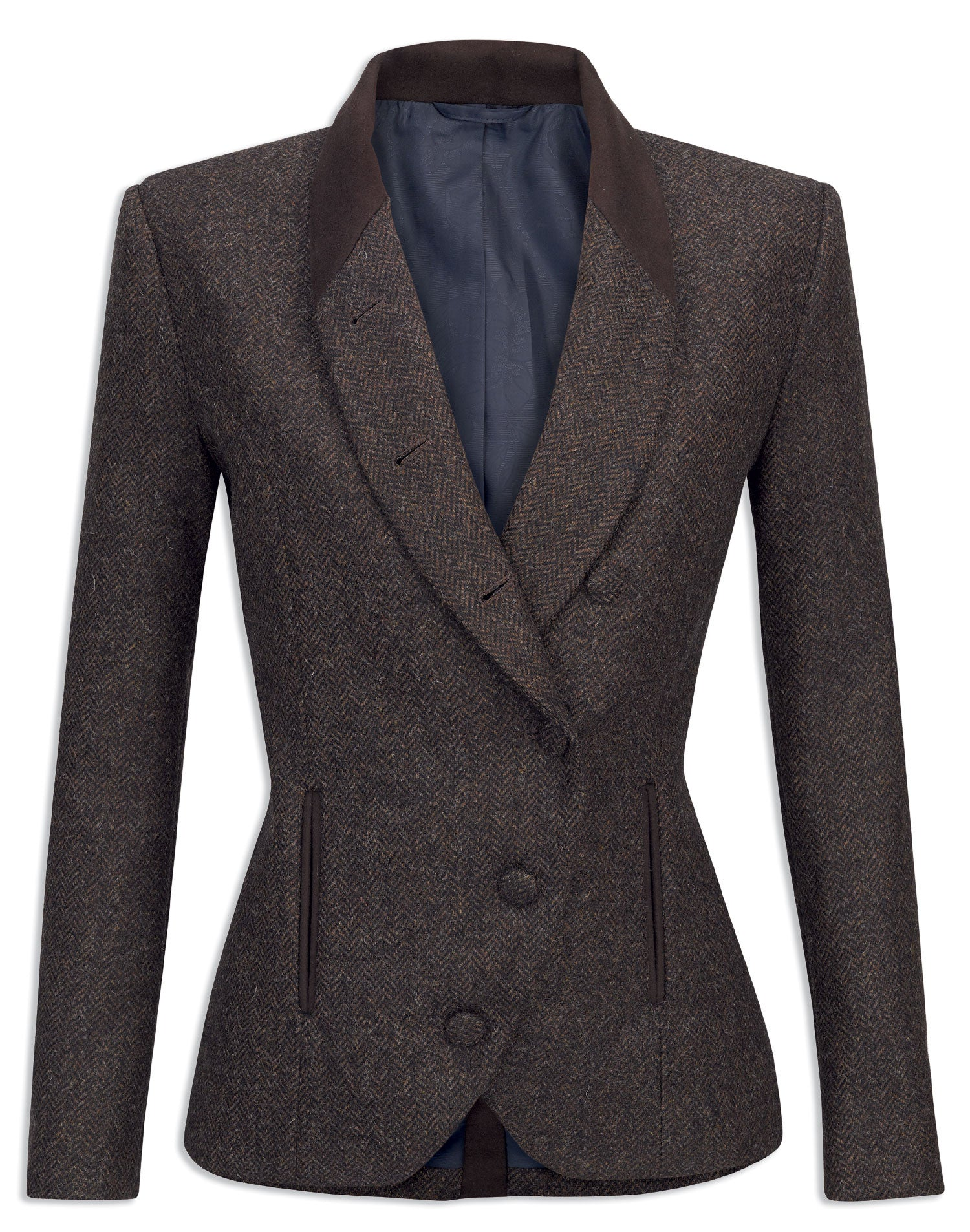 Womens tweed hacking jacket