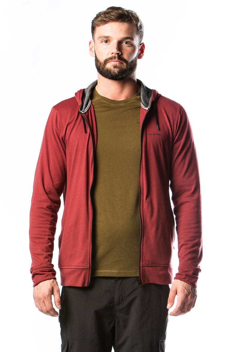 Craghoppers base layer with casual jacket