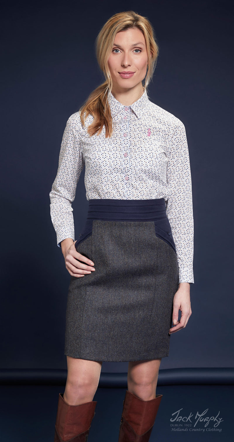 Jack Murphy Norah Tweed Skirt | Three Colours