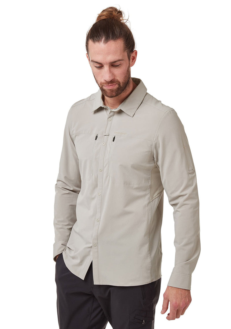 Parchment NosiLife PRO IV Long Sleeved Shirt by Craghoppers