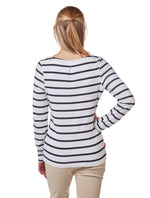 Back View Ladies NosiLife Erin Long Sleeve Top by Craghoppers