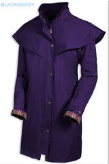 Target Dry Outrider 2 Three Quarter Length Waterproof Coat blackberry