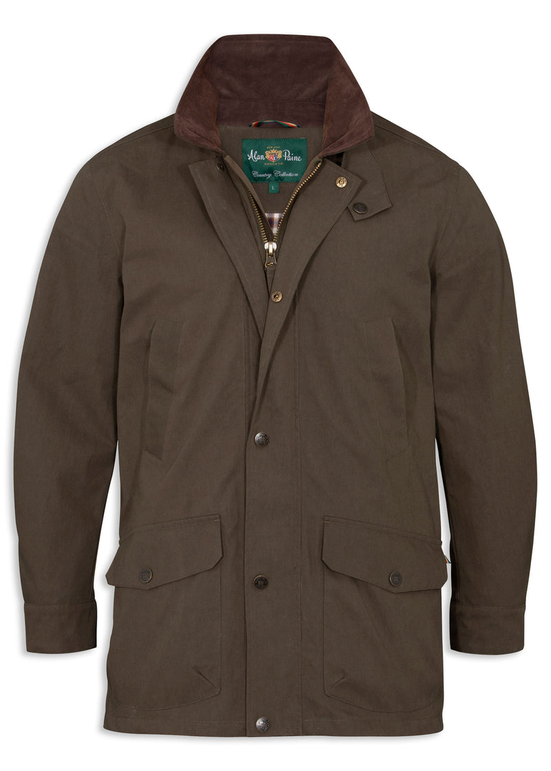 Olive Alan Paine Chatbourne Waterproof Jacket