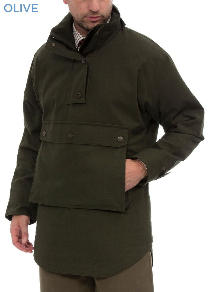 Olive Kexby Men's Waterproof Smock Jacket by Alan Paine