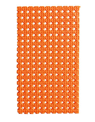 Musto D30 Shooting Recoil Pad in Bright Orange