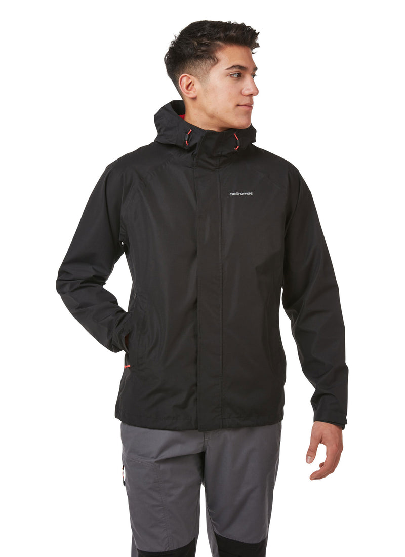 Black Craghoppers Orion Waterproof Jacket
