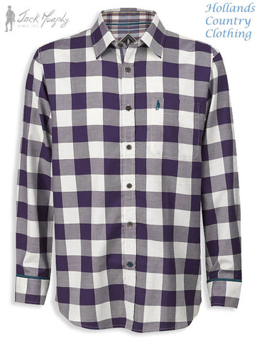 Jack Murphy Oscar Shirt 'Check Mate' Plaid Check