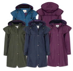 Lighthouse Outrider 3 Ladies Three Quarter Waterproof Coat