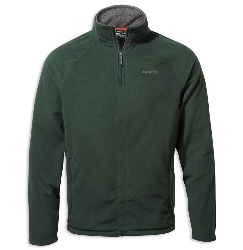 Asteroid Green Corey Man's Microfleece Top by Craghoppers