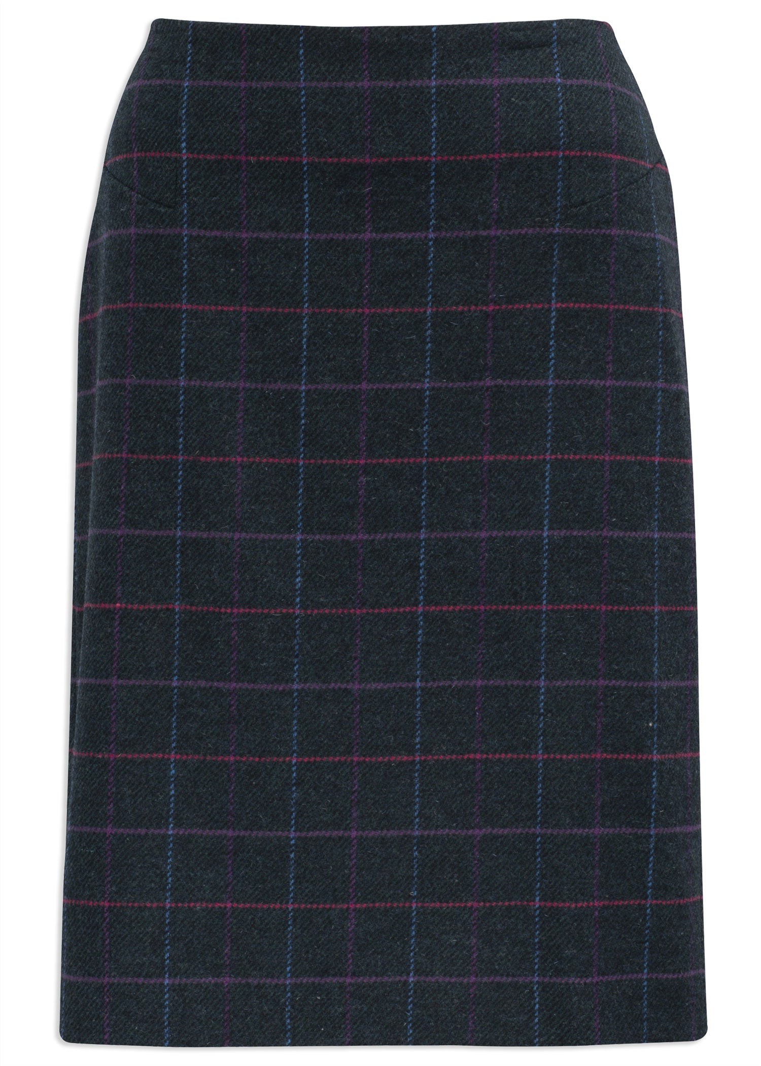 Alan Paine Surrey Knee Length Skirt | Dark Navy