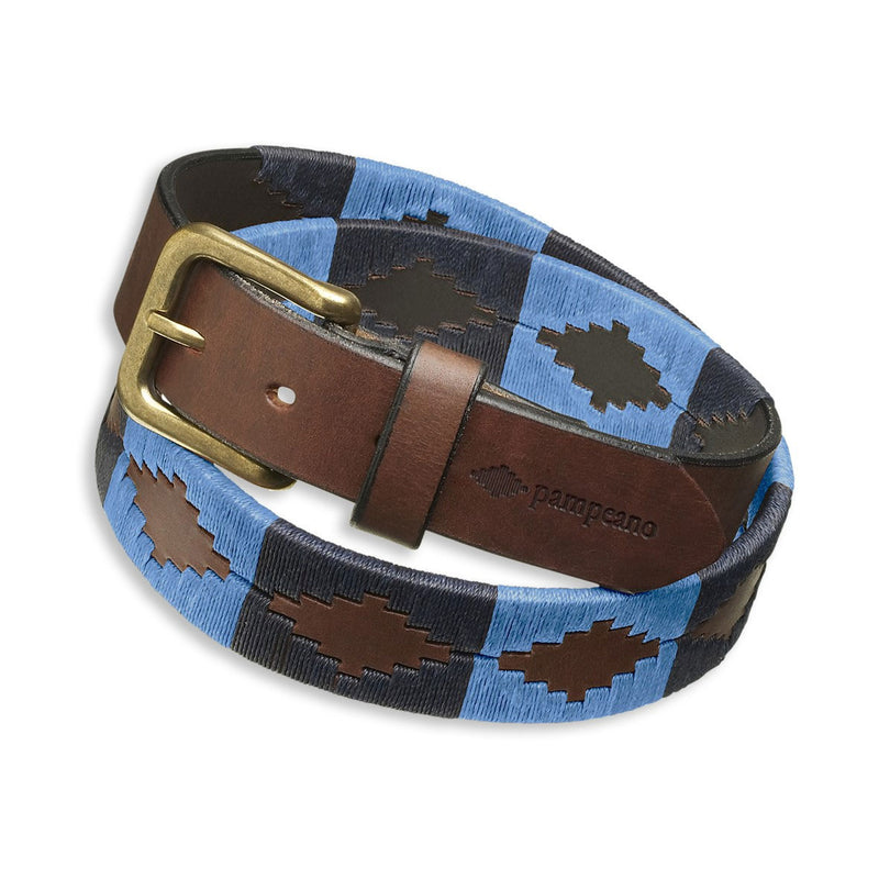 Pampeano Azules Polo Belt