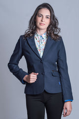 Paris Ladies Country Blazer by Hartwell in Navy