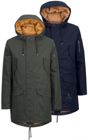 Jack murphy Larry parka coat waterproof breathable hooded