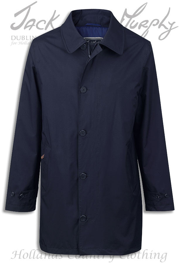 in navy Jack Murphy Patrick Men's Waterproof Mac