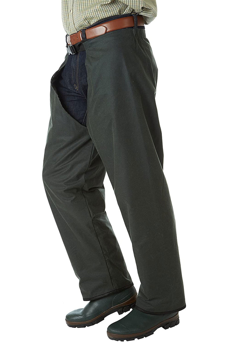 Sherwood Forest Perch Wax Trousers - gaiter  legs