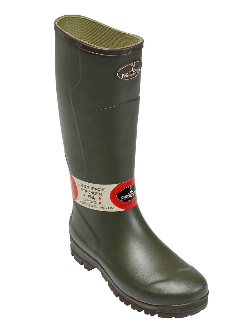 Percussion Beating Boots Rubber Wellingtons