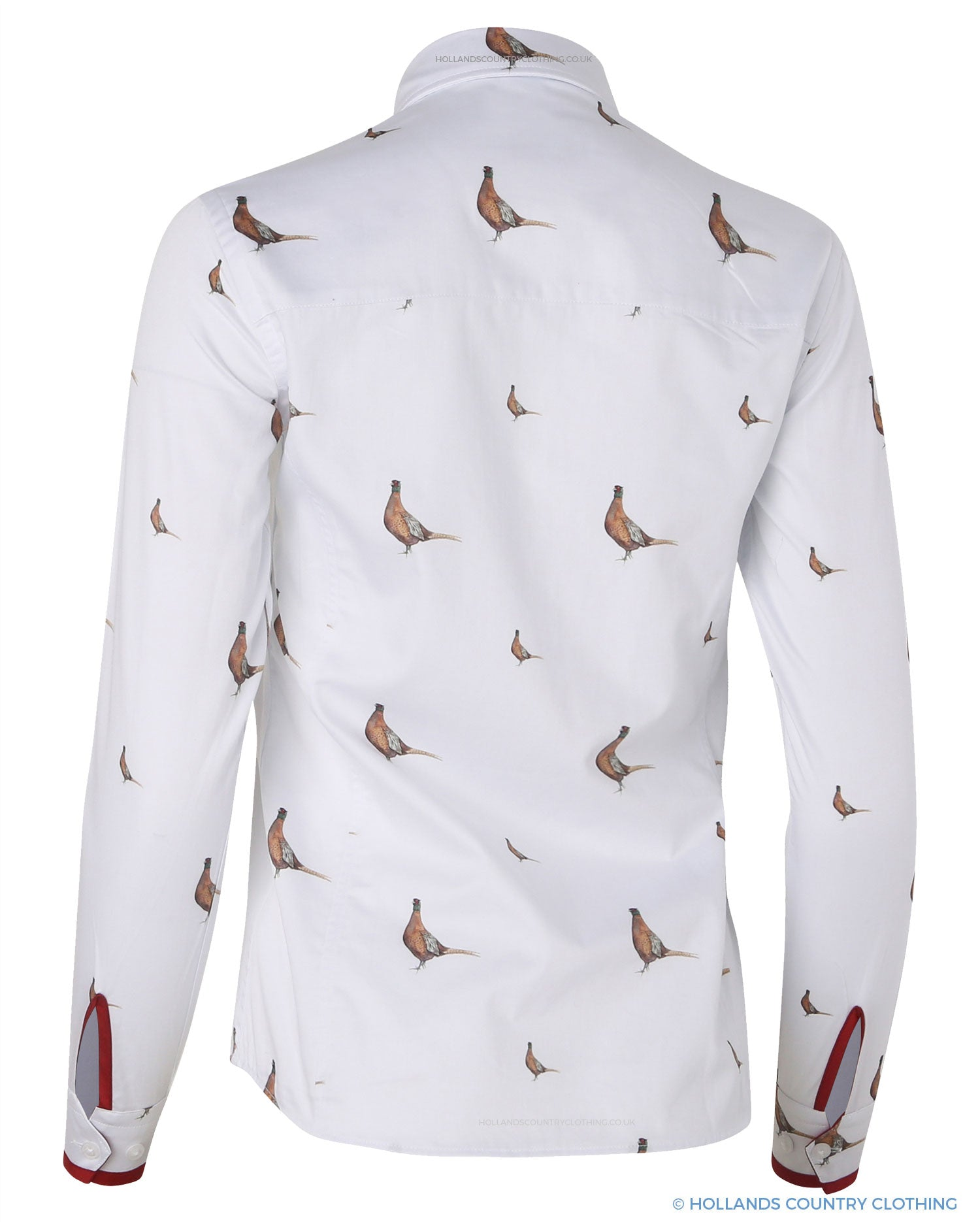 Back View Hartwell Layla Cotton Shirt | New Pheasants