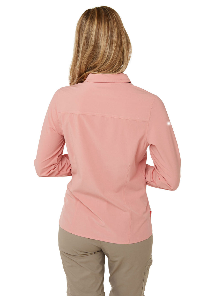 Back view Ladies Pro II Shirt by Craghoppers