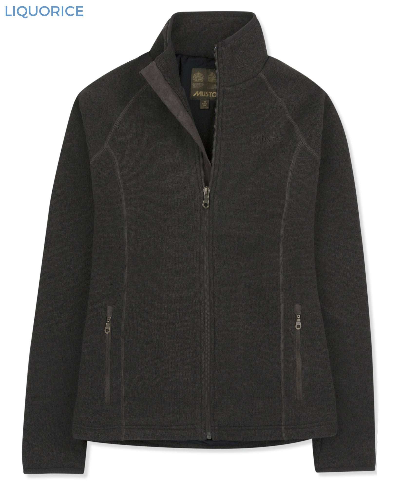 Liquorice Musto Ladies Polartec Windjammer Fleece Jacket