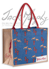jack murphy SHOW PONY large jute shopping bag