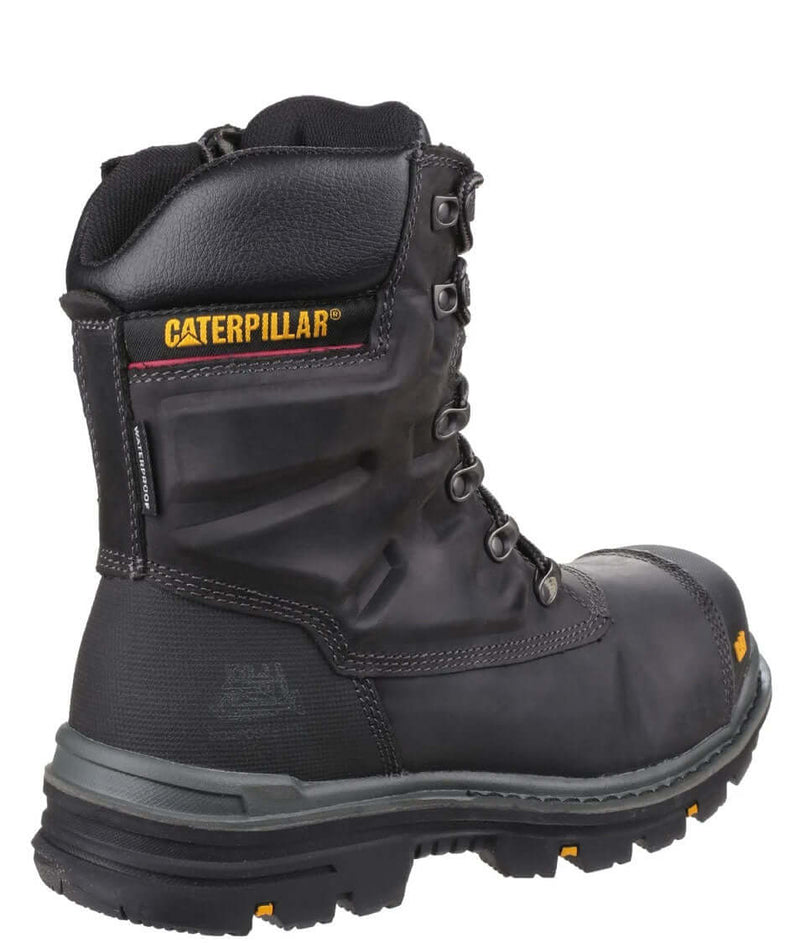Black Caterpillar Premier Waterproof S3 Safety Boot