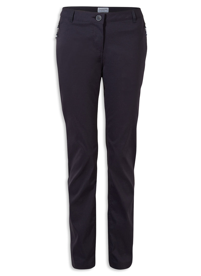 NAvy Ladies Kiwi Pro II Trousers by Craghoppers