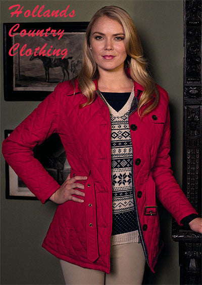 Jack Murphy Siobhan Ladies Quilted Jacket Hollands