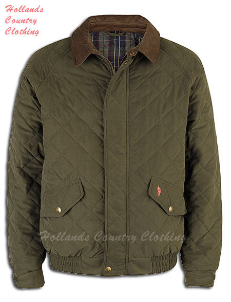 Jack Murphy Oisin Men S Quilted Bomber Jacket Hollands