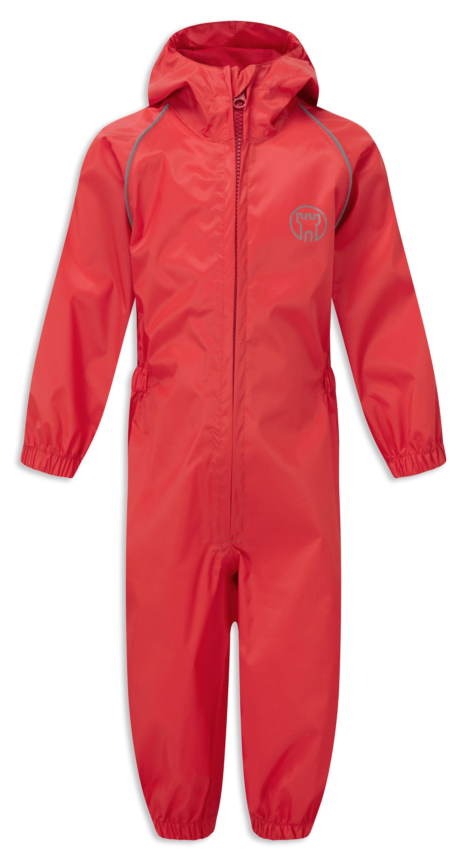 Red waterproof  Child's Splashaway Rainsuit