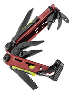Crimson Red and Black Leatherman Signal®+ Multi-Tool