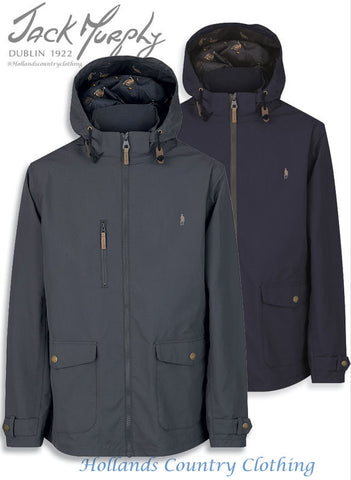 Jack Murphy Dennis Waterproof Jacket	in grey and blue