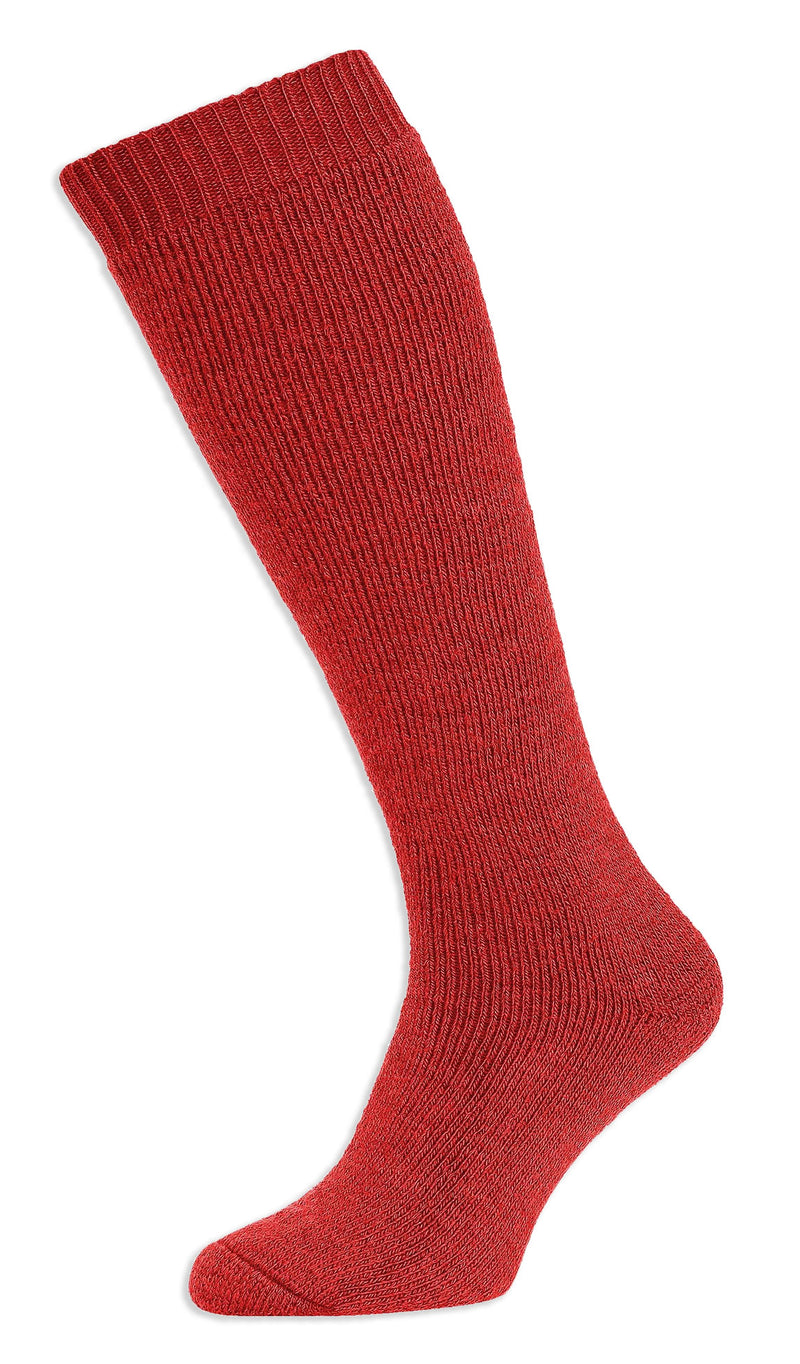 Red HJ Hall Rambler Long Cushioned Wool Sock