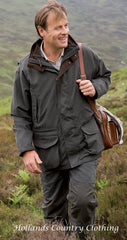 man shooting wearing Hoggs Ranger 3 in 1 Waterproof Field Jacket