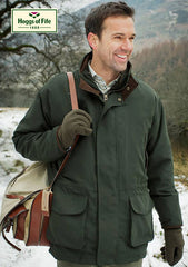 country man wearing hoggs  of fife Ranger 3 in 1 Waterproof Field Jacket