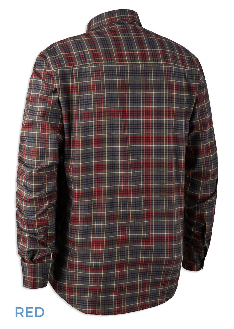 Back View Deerhunter Calvin Check Shirt