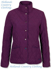 Jack Murphy Reece Ladies Quilted Jacket with Micro Fleece Lining
