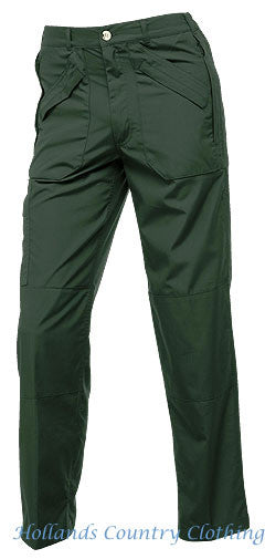 Men's Action Trousers II by Regattain green