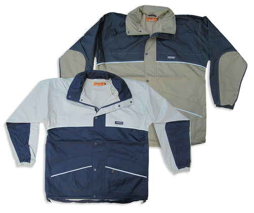 Regatta Condor Waterproof Jacket | Ash Beige Navy