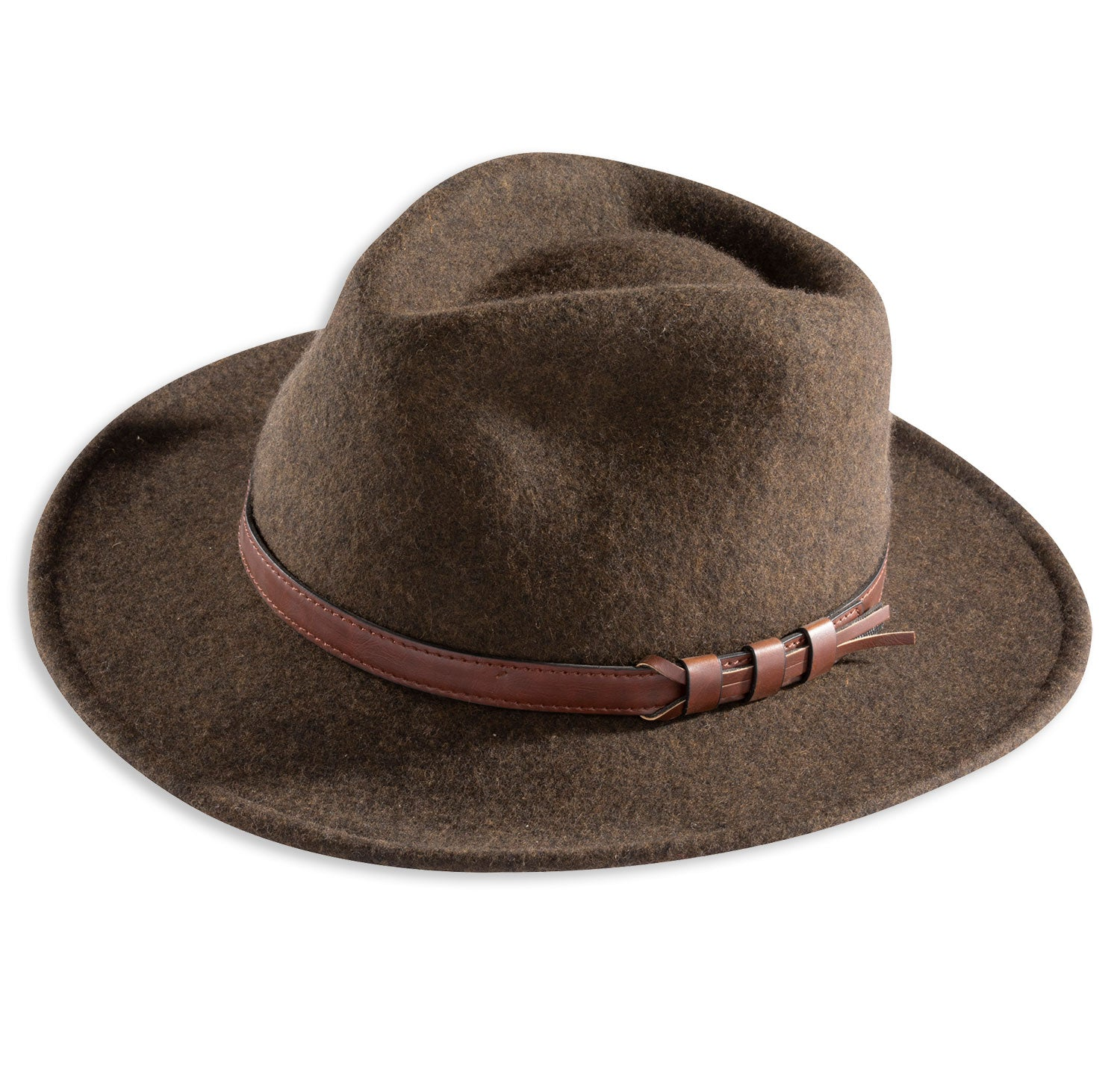 Alan Paine Richmond Felt Hat  | Brown