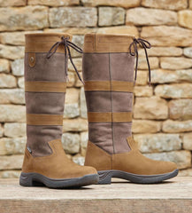 Waterproof Leather  Ladies high Leg country boot s