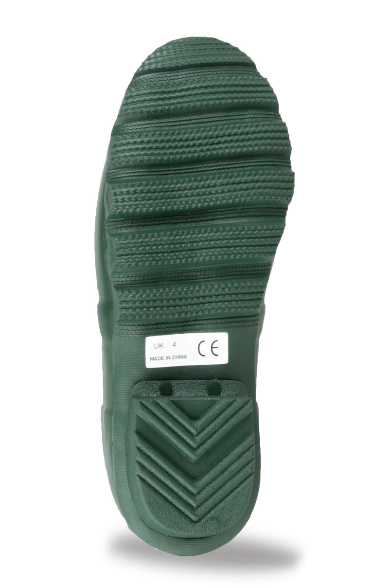 Ribbed sole unit green