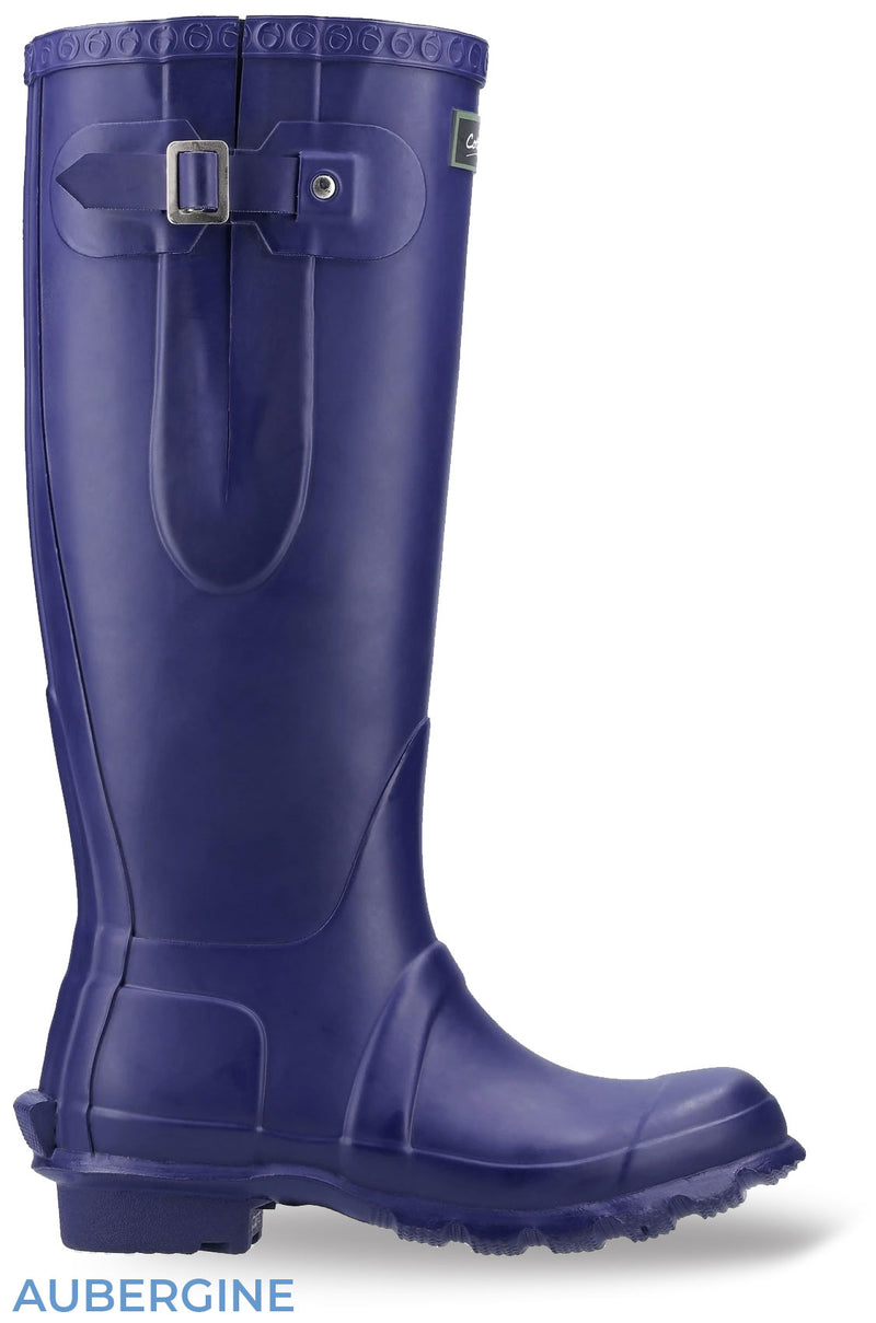 Aubergine Cotswold Windsor Regular Fitting Premium Quality Unisex Wellingtons