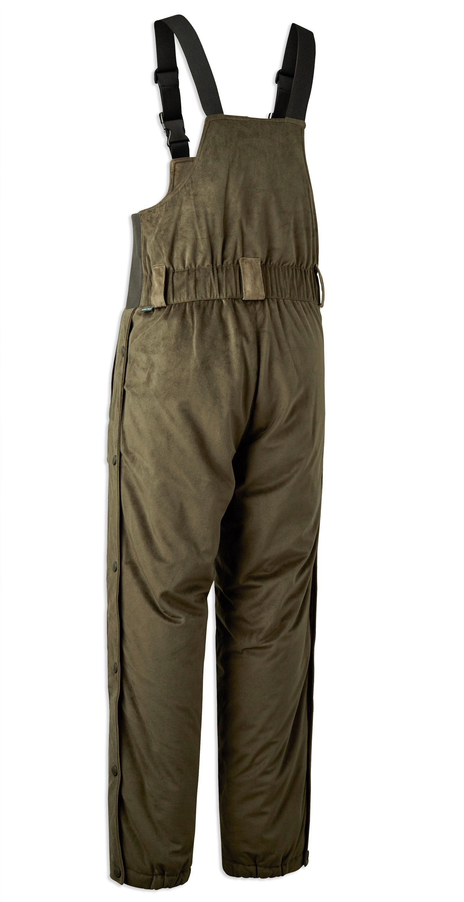 Back View Deerhunter Rusky Silent Bib Trousers